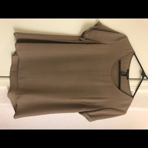 Forever 21 taupe blouse